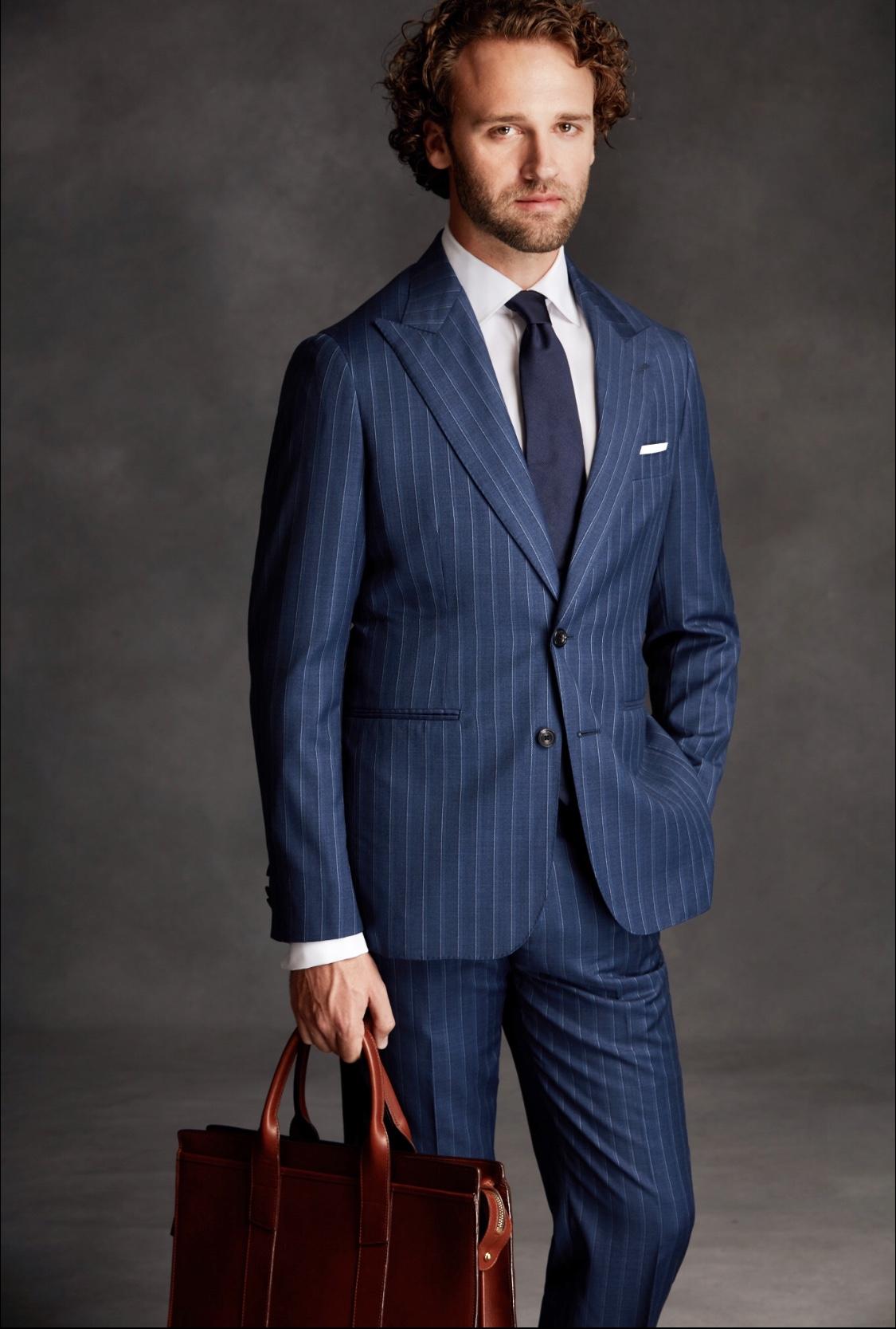 lawer in dark suit