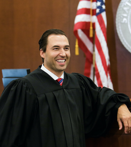 <p>Judge Scott Schlegel</p>