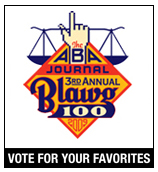 ABA Journal 2009 Top 100 Blog