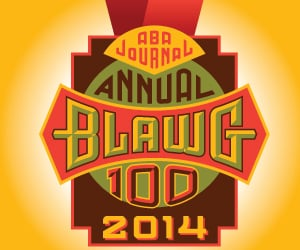ABA Journal Top Blawg 100