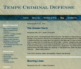 Tempe Criminal Defense