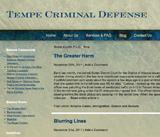 Tempe Criminal Defense