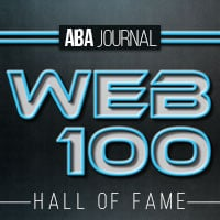 Web 100 Hall of Fame badge.