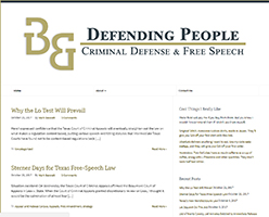 Defending People