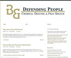 Defending People