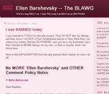 Ellen Barshevsky - THE BLAWG