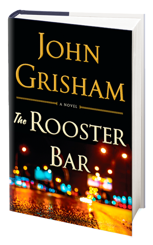 The Rooster Bar book cover