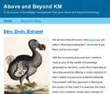 Above and Beyond KM