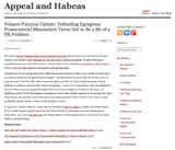 Appeal and Habeas