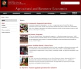 Agriculture and Resource Economics