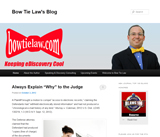 Bow Tie Law's Blog