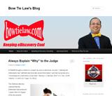Bow Tie Law's Blog
