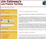 Jim Calloway's Law Practice Tips Blog