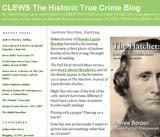 Clews The Historic True Crime Blog