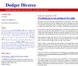 Dodger Divorce