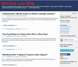 Election Law Blog