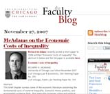 The Faculty Blog
