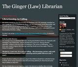 Ginger Law Librarian
