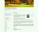 Golf Dispute Resolution