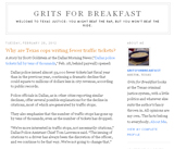 Grits for Breakfast
