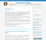 Health Law Prof Blog