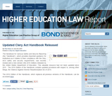 Higher Education Law Report