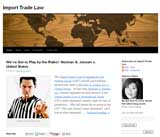 Import Trade Law