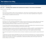 Indiana Law Blog
