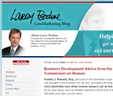 Larry Bodine LawMarketing Blog