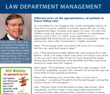Law Department Management