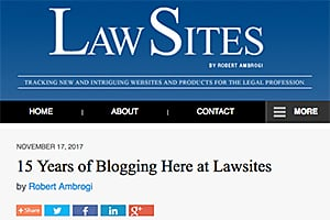 LawSites home page.