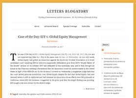 Letters Blogatory