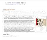 Legal History Blog