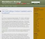 Mendelson's Musings