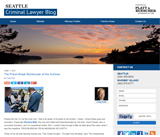 Seattle Criminal Lawyer Blog