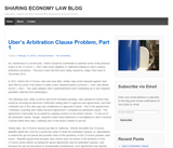 Sharing Economy Law Blog