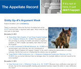 The Appellate Record