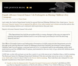 The Justice Blog