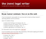 the (new) legal writer