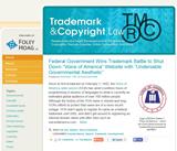 Trademark & Copyright Law