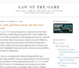 Law of the Game