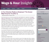Wage & Hour Insights
