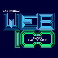Blawg Hall of Fame logo.