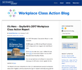 Workplace Class Action Blog
