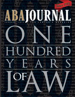 January 2015 ABA Journal