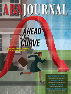 March 2019 cover: Ahead of the Curve.