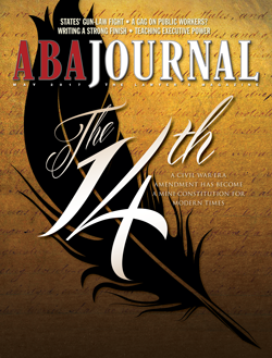 ABA Journal, May 2017 issue.