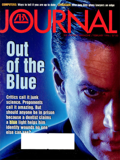 February 1996 ABA Journal cover.