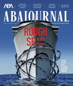 ABA Journal June-July 2020: Rough Seas