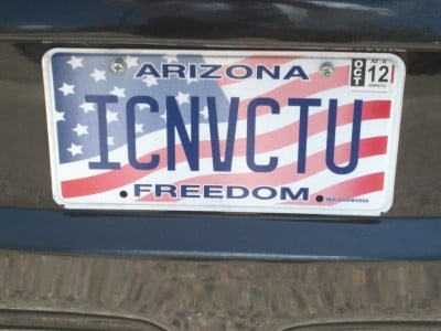Lawyer License Plates